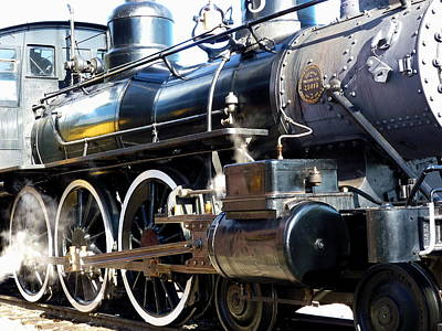 Photograph - Full Steam Ahead by Tamyra Crossley