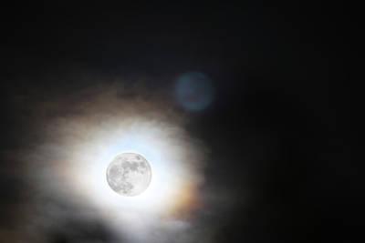 Photograph - Full Taurus Moon by Diana Haronis