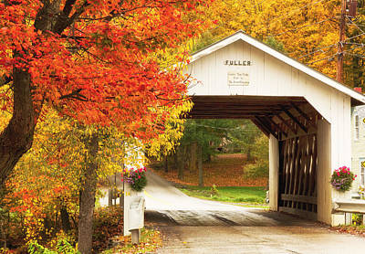 Photograph - Fuller Covered Bridge by Wade Crutchfield