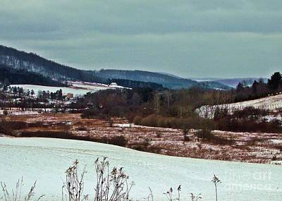 Photograph - Fulmer Valley In Winter by Christian Mattison