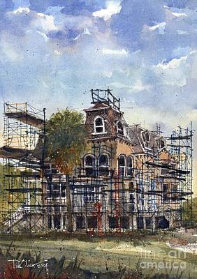 Rockport Wall Art - Painting - Fulton Mansion by Tim Oliver