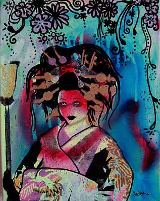 Fumiko Art Print by dreXeL