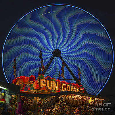 Photograph - Fun And Games In Blue by Sonya Lang