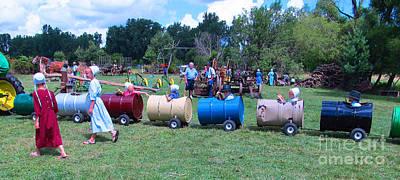Mennonite Community Photograph - Fun Fun Fun by Tina M Wenger