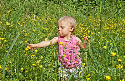 Photograph - Fun In The Meadow by Valerie Garner