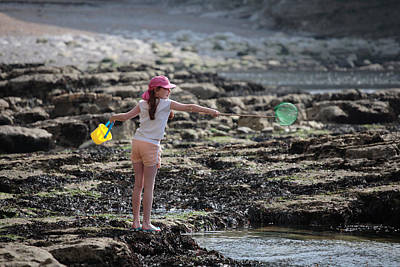 Photograph - Fun In The Rockpools by Paul Indigo