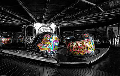 Funfair Photograph - Fun Of The Fair by Martin Newman