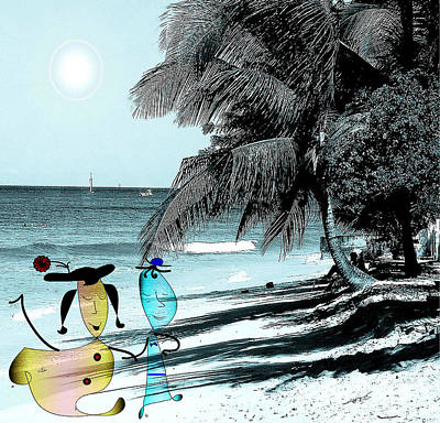 Fun Time Art Print by Iris Gelbart
