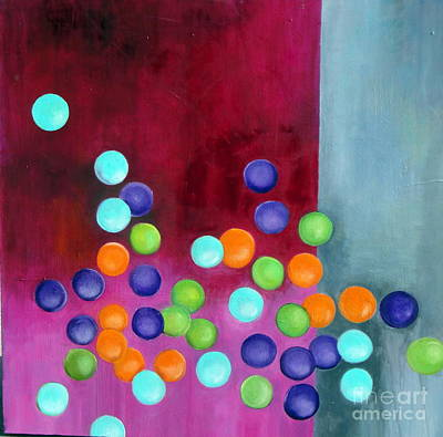 Painting - Fun With Balls by Elaine Callahan