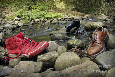 Photograph - Fun With Shoes by Morgan Wright