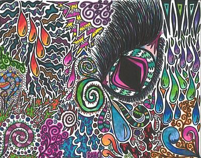 Swirly Drawing - Funderland by Ryan Ashley Hornbuckle