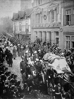 Photograph - Funeral Of Queen Victoria by Granger
