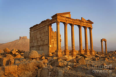 Funerary Temple At Palmyra Art Print