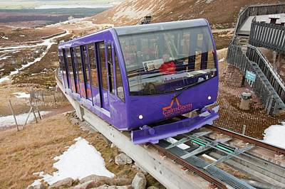 Funicular Photograph - Funicular Railway by Ashley Cooper