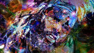 Sly Digital Art - Funkadelic by D Walton