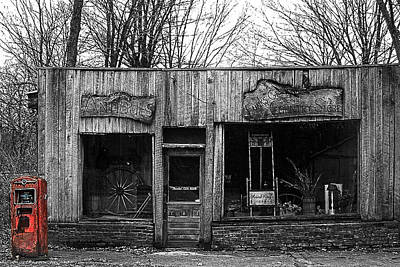 Photograph - Funks Grove Country Store by Roger Passman