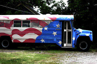 Photograph - Funky Bus by John Rizzuto