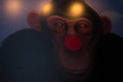 Funky Monkey Art Print by Yoann Jean-Montcler
