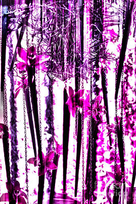 Funky Pink Flowers Print by Tom Gari Gallery-Three-Photography
