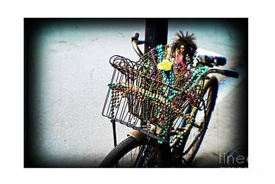 Mardi Gras Beads Photograph - Funky Ride by Scott Pellegrin