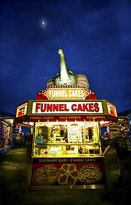 Photograph - Funnel Cakes by Mark Andrew Thomas