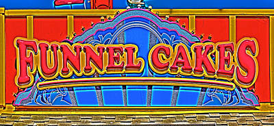 Photograph - Funnel Cakes by Richard J Cassato