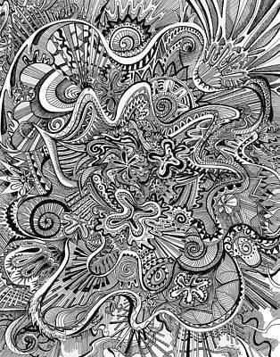 Funnel Me Art Print by Brenda Erickson