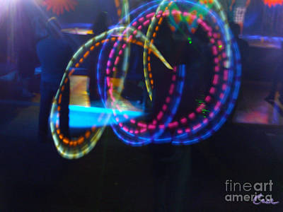 Photograph - Funnel Of Lights by Feile Case