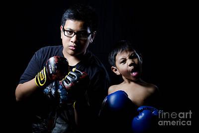 Kickboxer Photograph - Funny Boy by Mystique Asian