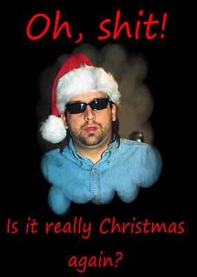 Photograph - Funny Christmas Card by Joseph C Hinson Photography