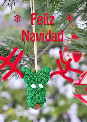 Photograph - Feliz Navidad Reno by Marianne Campolongo
