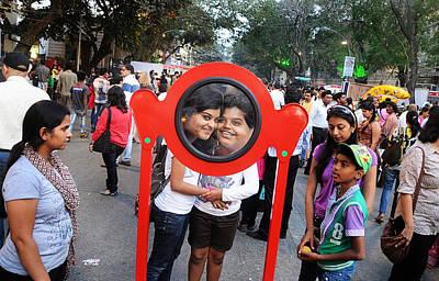 Funny Duo Art Print by Money Sharma