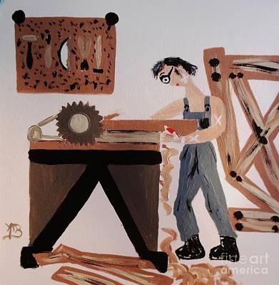 Funny Professionals  Carpenter Original by Marie Bulger