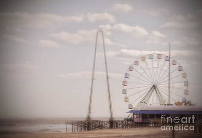 Photograph - Funtown Pier by Debra Fedchin