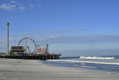 Photograph - Funtown Pier Seaside Heights Nj Jersey Shore by Terry DeLuco