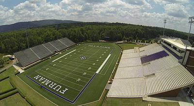 Wall Art - Photograph - Furman Stadium by Rick Lecture