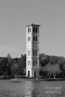 Photograph - Furman University Bell Tower by University Icons