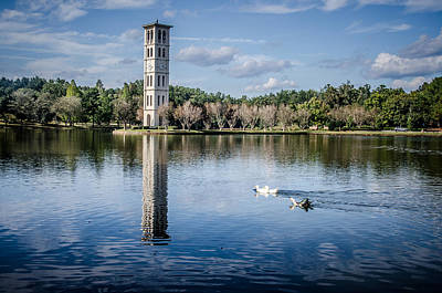Furman Photograph - Furman University Belltower by Thomas Taylor