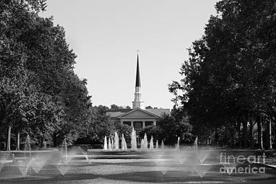 Furman Photograph - Furman University Chapel by University Icons