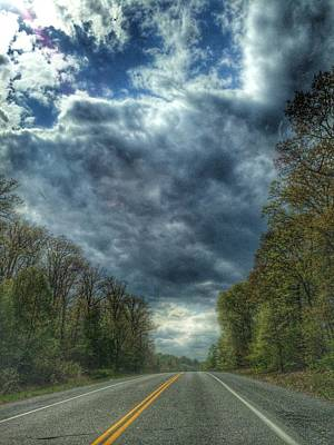 Photograph - Furnace Branch Road by Toni Martsoukos