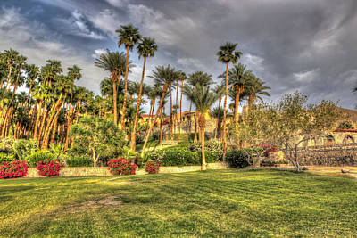 Hot Creek Photograph - Furnace Creek Inn by Heidi Smith