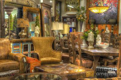 Photograph - Furniture Corner by Mathias