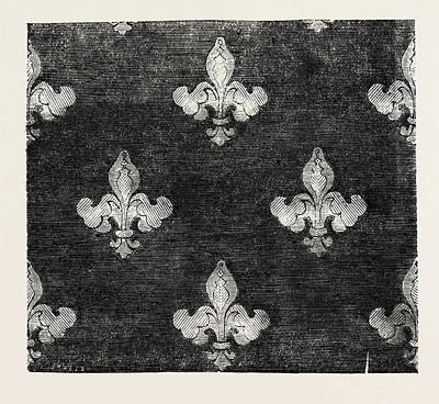 Damask Drawing - Furniture Damask by Ward, Of Halifax, English, 19th Century