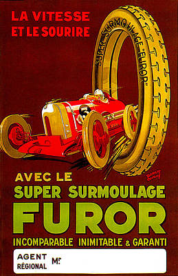 Photograph - Furor Super Surmoulage by Uknown