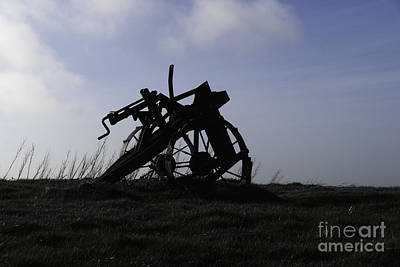 Photograph - Furrow Plough by James Lavott