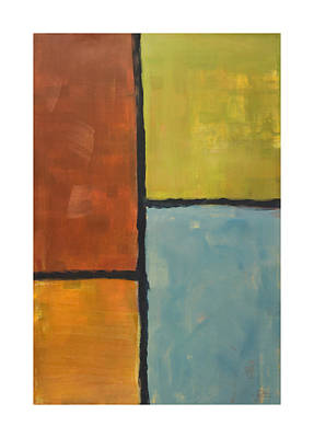 Rectangles Painting - Furthest Window by Craig Tinder