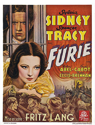 Fury, Aka Furie, From Top Spencer Art Print by Everett