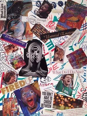 Fury Mixed Media - Furyangerrage by Brenda Pressnall