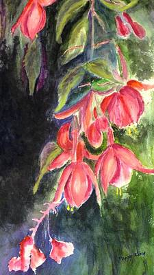 Painting - Fuschia 1 by Peggy King