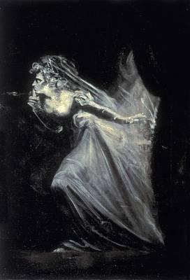 Fuseli, Johann Heinrich 1741-1825. Lady Art Print